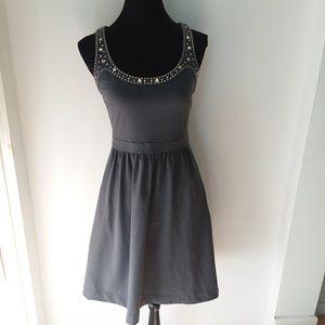 😁CYNTHIA ROWLEY Studded Dress